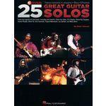 Hal Leonard 25 Great Guitar Solos