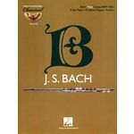 Hal Leonard Bach Flute Sonata Play-Along