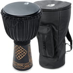 "Toca 13"" Black Mamba Djembe Set"