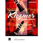 Universal Edition Klezmer Clarinet Duos