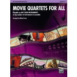 Alfred Music Publishing Movie Quartets for All Trump.