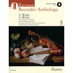 Schott Baroque Recorder Anthology 3