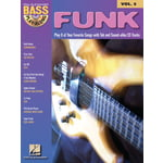 Hal Leonard Funk Bass Play-Along