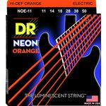 DR Strings HiDef Neon Orange Heavy NOE11