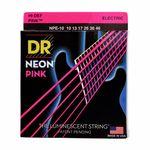 DR Strings HiDef Neon Pink Medium NPE-10