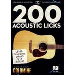 Hal Leonard 200 Acoustic Licks