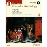 Schott Baroque Recorder Anthology 4