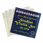 Ambassador Violin Student Silver Plate