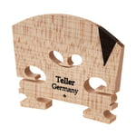 Teller Violin Bridge 4/4 V-Inlay