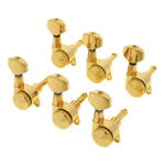 Harley Benton Parts Locking Tuners 6L Gold