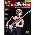 Hal Leonard Bass Play-Along Chili Peppers