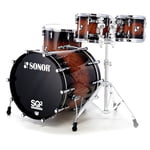 Sonor SQ2 Beech Walnut Brown Burst