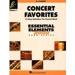 Hal Leonard Concert Favorites 1 Clarinet