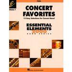 Hal Leonard Concert Favorites 1 Tuba
