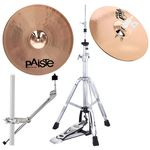 Paiste PST8 Cajon Crash/Hi-Hat Bundle