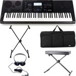 Casio WK-7600 Deluxe Bundle