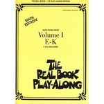 Hal Leonard Real Book CD Play-Along E-K