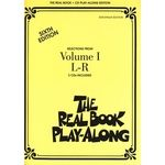 Hal Leonard Real Book CD Play-Along L-R