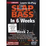 Music Sales Slap Bass In 6 Weeks - Week 2