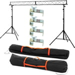 Stageworx LB-3 Lighting Stand Set Bundle