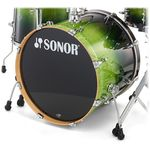 "Sonor 22""x17"" BD Essential GreenFade"