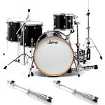 Ludwig Centennial Drag Black Bundle