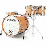 Sonor SQ2 Set Rock Birdseye Amber