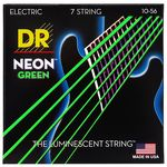 DR Strings HiDef Neon Green Med. NGE7-10
