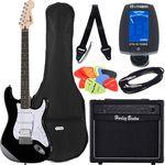 Fender SQ Bullet Strat HSS BK Bundle1