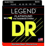 DR Strings DR B HIFL FLB5-45 Flatwound