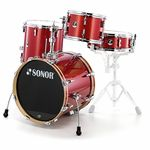 Sonor Bop Shell Set Red Sparkle