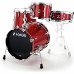 Sonor Safari Shell Set Red Sparkle