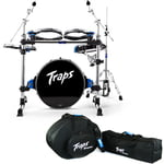 Traps A-400 Acoustic Drumset Bundle