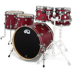 DW Satin Oil Rock Set Cherry SSC+