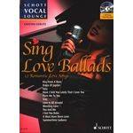 Schott Vocal Lounge Sing Love Ballads
