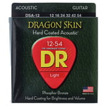 DR Strings Dragon Skin Acoustic 12-54