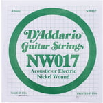 Daddario NW017 Single String