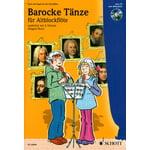 Schott Barocke Tänze Alt