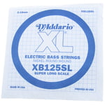 Daddario XB125SL Bass Single String