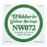 Daddario NW072 Single String
