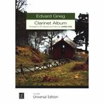 Universal Edition Edvard Grieg Clarinet Album