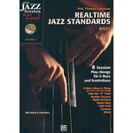 Alfred Music Publishing Realtime Jazz Standards - Bass