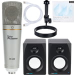 the t.bone SC 440 USB Podcast Bundle 2+