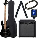 Harley Benton B-450 Black Bundle 2