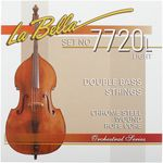 La Bella 7720L Chrome Steel Flatwound