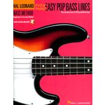 Hal Leonard Even More Easy Pop Bass Lines