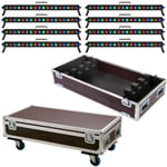 Stairville Show Bar Tri LED Tour Bundle 8