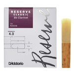 Daddario Woodwinds Reserve Clarinet Classic 4,0