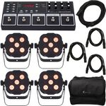 Stairville LED Foot 8 DMX Bundle