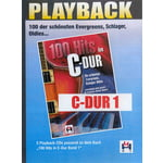Musikverlag Hildner 100 Hits C-Dur 1 Playback CDs